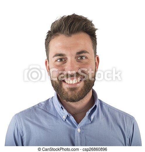 Smiling man - csp26860896