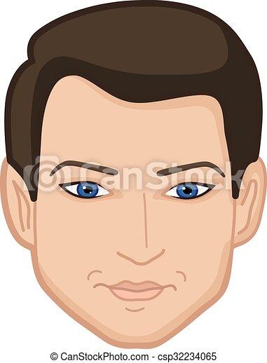Facial clipart illustration