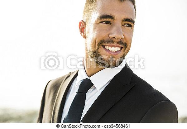 Smiling - csp34568461