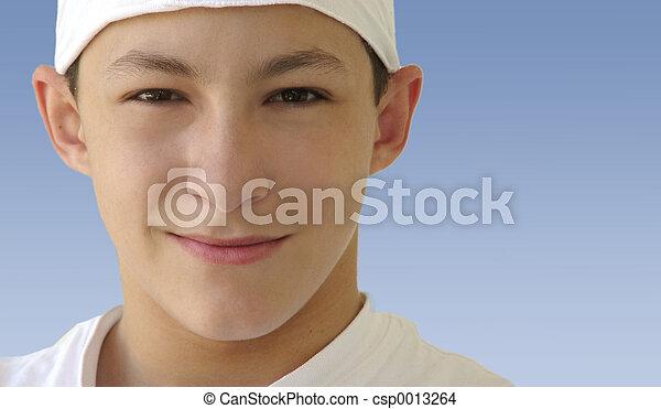 smiling - csp0013264