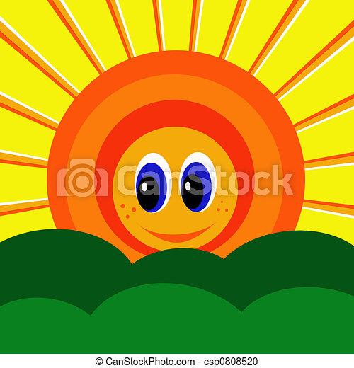 Smiling Sunshine - csp0808520