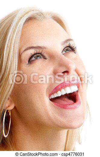 smiling woman - csp4776031
