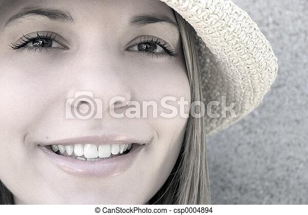 Smiling Woman - csp0004894