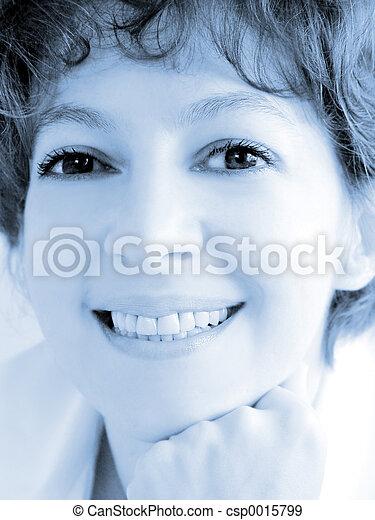 smiling woman - csp0015799