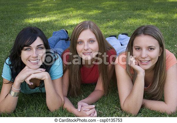 Smiling Women - csp0135753