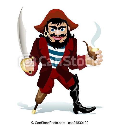smilling, pirat - csp21830100