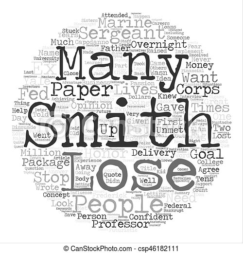 smith could c the future text background word cloud concept clipart rh canstockphoto ca And White Black Art Rope Clip Clip Art Black and White Ink