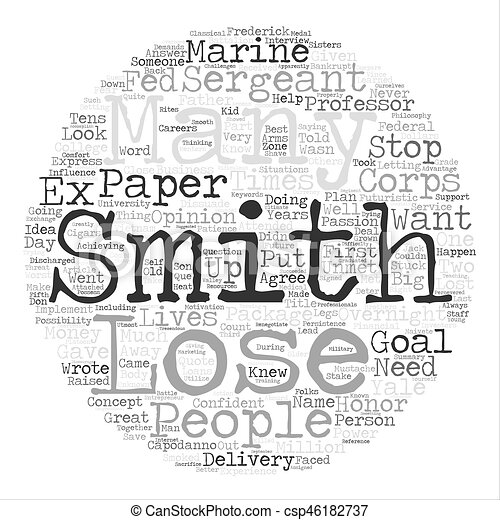 smith could c the future text background wordcloud concept drawings rh canstockphoto com Team Roping Clip Art Black and White And White Black Art Rope Clip