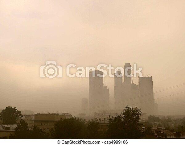 smog., city. - csp4999106