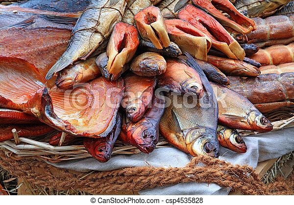 smoked fish - csp4535828