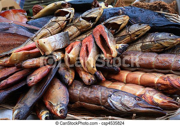 smoked fish - csp4535824