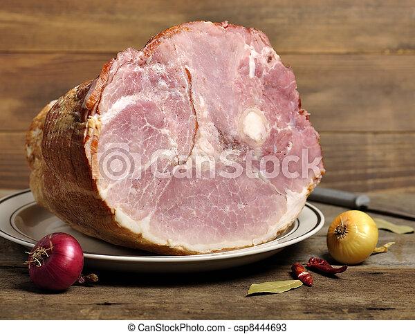 Smoked Ham - csp8444693