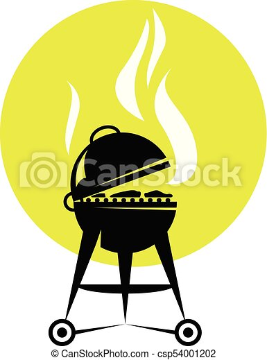 smoking barbecue grill roaster bbq party poster vector clipart rh canstockphoto com bbq vector png bbq victoria bc