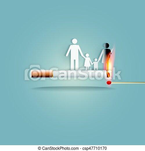 Smoking Burns Family