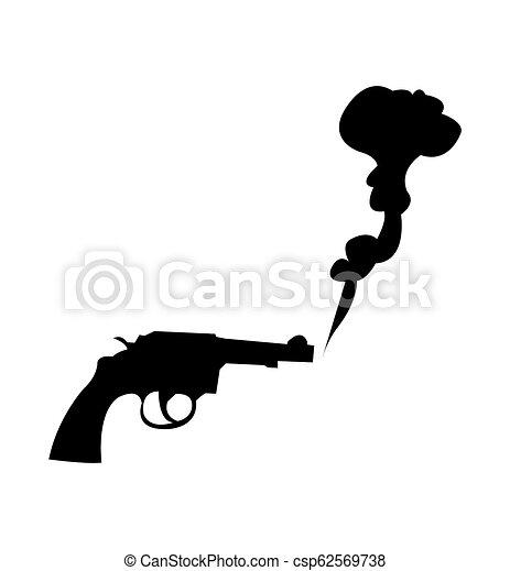 Smoking gun.