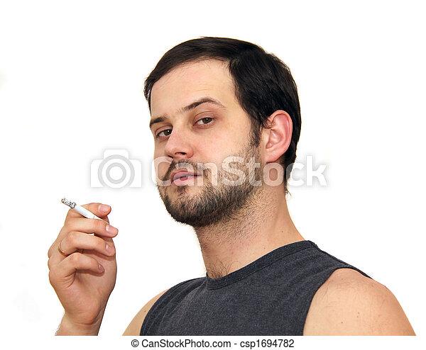 smoking man - csp1694782