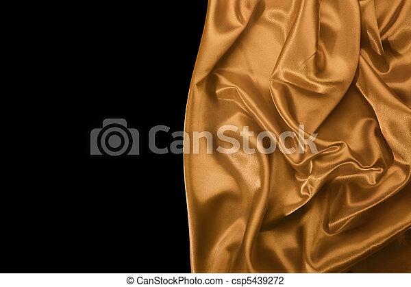Smooth silky drapery - csp5439272