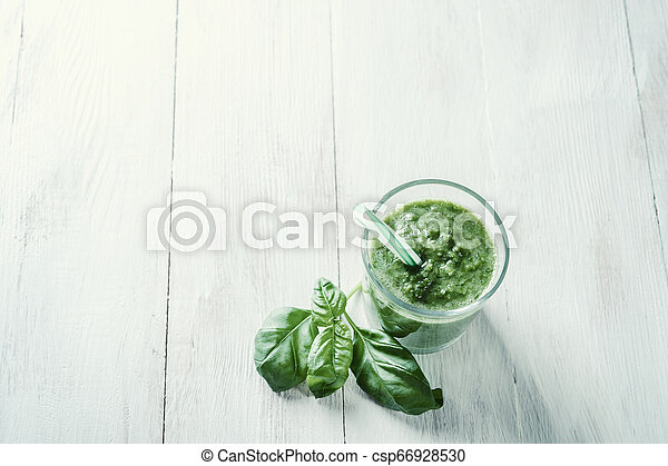 Smoothie from fruit and vegetables - csp66928530