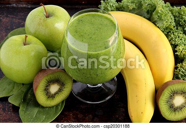 smoothie, vert - csp20301188
