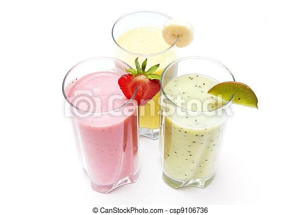smoothies, fruit - csp9106736