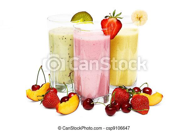 smoothies, fruit - csp9106647