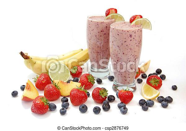 smoothies, fruit - csp2876749