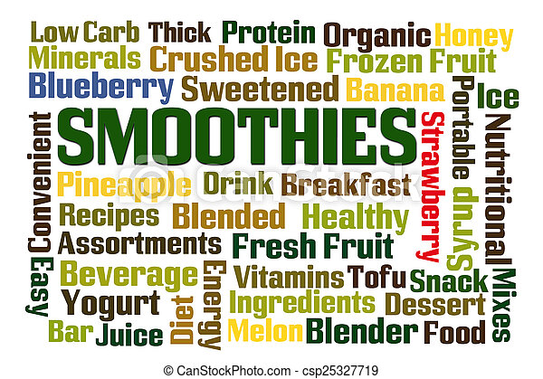 smoothies - csp25327719