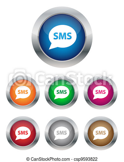 SMS buttons - csp9593822
