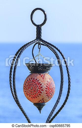 smukke, middelhavet, kemer, hav, lanterne - csp60665795