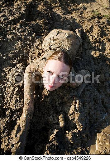 pige mudder