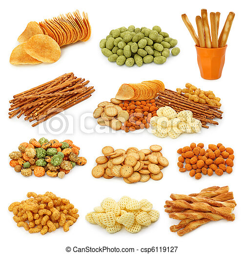 Snack collection - csp6119127