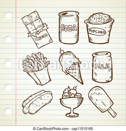 Snack doodle - csp11515165