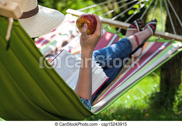 Snack on hammock - csp15243915