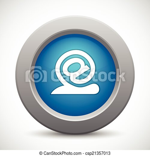 snail - email button - csp21357013
