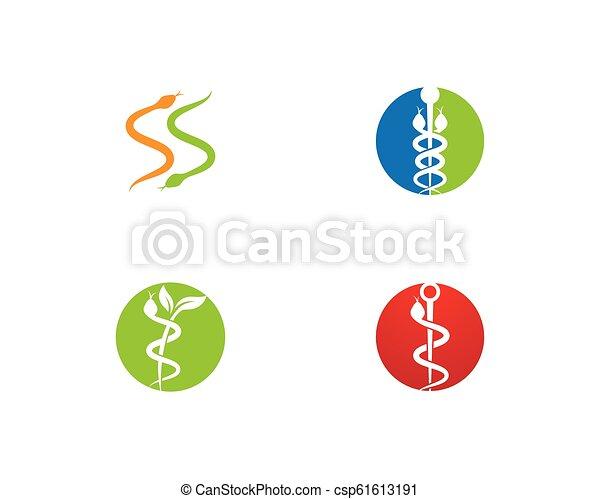 Snake logo vector - csp61613191
