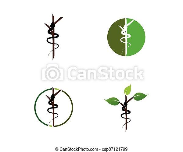 Snake logo vector - csp87121799