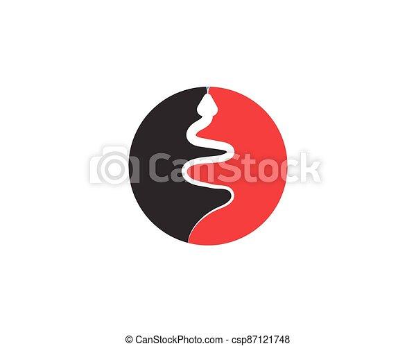 Snake logo vector - csp87121748