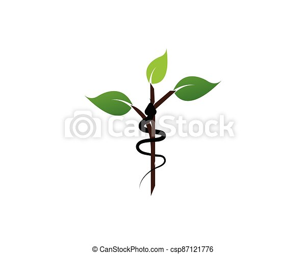Snake logo vector - csp87121776