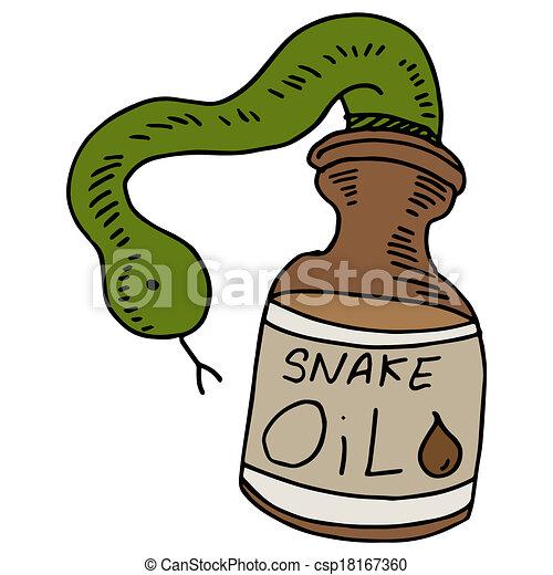 Snake Oil - csp18167360