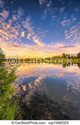 Snake River Sunrise - csp15460324