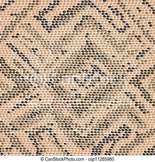 snake skin - csp11285980