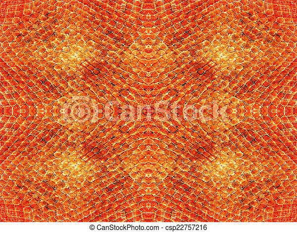 Snake skin pattern background - csp22757216