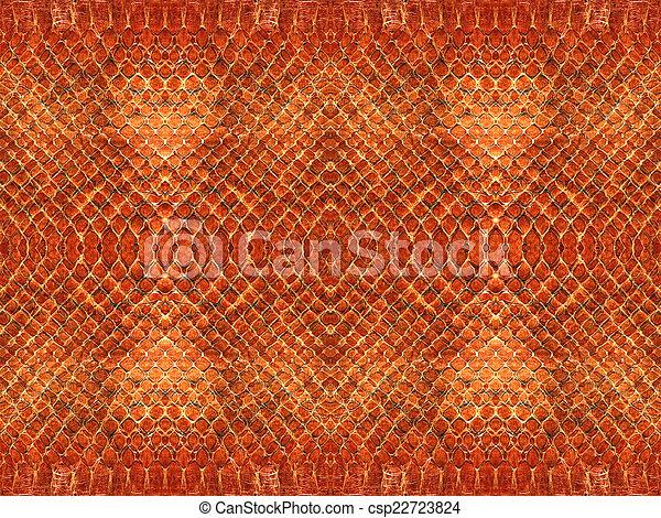 Snake skin pattern - csp22723824