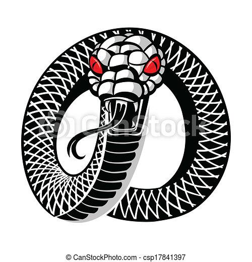 Snake tattoo - csp17841397