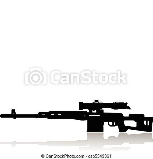 sniper rifle - csp5543361