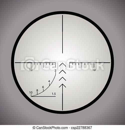 Sniper scope - csp22788367