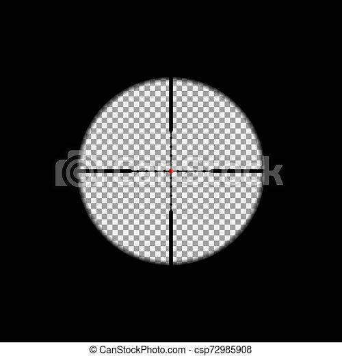 Sniper scope overlay - csp72985908