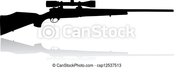 Sniper scope rifle - csp12537513