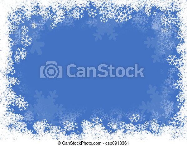 composition of a snow background illustration rh canstockphoto com snow falling background clipart Snow Falling Clip Art