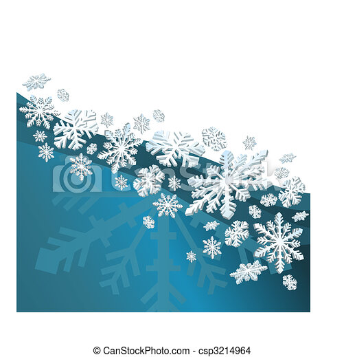 Snow Flakes - csp3214964